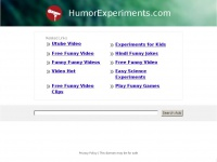 HumorExperiments.com: The Leading Humor Experiment Site on the Net