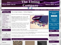 Theliningcompany.co.uk