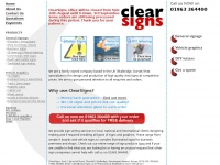 clearsigns.co.uk