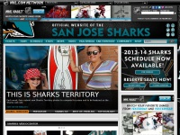 Sjsharks.com - The Official Web Site - San Jose Sharks