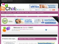 321seniorchat.com - 321 Senior Chat - Chat rooms for older more mature chatters