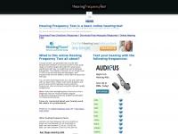 Hearingfrequencytest.com - Hearing Frequency Test Online Hearing Test