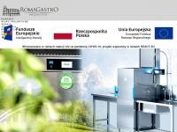 Romagastro.pl - RomaGastro :: sprzet gastronomiczny :: zaopatrzenie, wyposazenie gastronomii, restauracji, pizzerii i barów