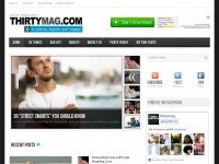 Thirtymag.com: to inform, inspire, and engage with today's guy.