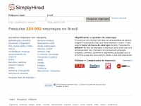 simplyhired.com.br Thumbnail