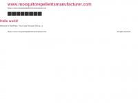 mosquitorepellentsmanufacturer.com