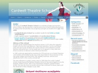 cardwelltheatreschool.co.uk Thumbnail