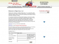 Magic Auto, Inc. - Complete Auto Repair, Body Work, Used Car Sales - 1001 Northwest Hwy., Des Plaines, IL 60016