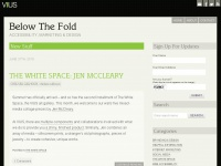 Below The Fold - Accessibility, Marketing & Design