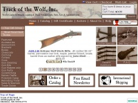 Trackofthewolf.com - Track of the Wolf - Muzzle Loading & Black Powder Guns Kits, Parts, Accoutrements, Rendezvous Gear & Primitive Americana