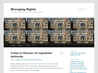 Wronging Rights | Very Serious Commentary on Very Important Issues