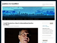 Justice in Conflict | On the challenges of pursuing justice