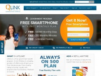 Qlinkwireless.com - Q Link Wireless - FREE Phone + FREE Minutes - Government Program
