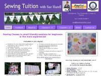 Sue Hazell - Sewing Tuition / Sewing Courses / Sewing Classes