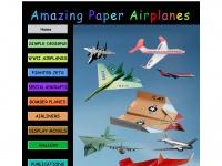 amazingpaperairplanes.com