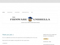 Thefirmwareumbrella.blogspot.com - The Firmware Umbrella - TinyUmbrella
