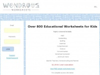wondrousworksheets.com Thumbnail