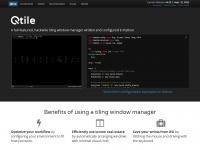 qtile.org Thumbnail