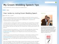 mygroomweddingspeech.net