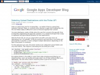 googleappsdeveloper.blogspot.com