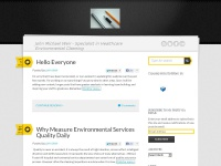 John Michael Weir | Specialist in Healthcare Environmental Cleaning