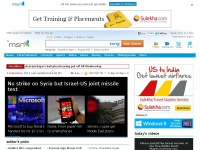 Msnindia.com - MSN India - Hotmail, News, Cricket, Bollywood, Video, Messenger, Download IE9 & More...