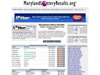 Marylandlotteryresults.org