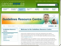 cancerguidelines.ca Thumbnail