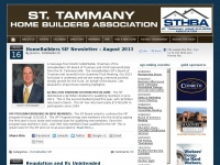 St. Tammany Home Builders Association | Welcome