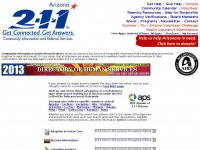211arizona.org - 2-1-1 Arizona - A Service of Community Information and Referral Services