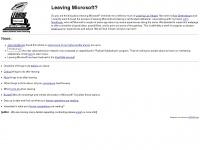 leavingmicrosoft.com