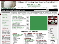 Ultimate Golf Directory - Everything Golf Related