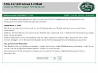 Sngbarrattde.com - SNG Barratt - Germany | Jaguar & Daimler classic parts, spares & accessories