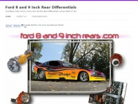Ford8and9inchrears.com - Ford Rears 8 inch 9 inch Posi Traction Rear Differentials