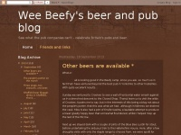 Weebeefyspubblog.blogspot.com - Wee Beefy's beer and pub blog