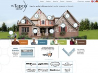 The Tapco Group, Metal Bending Machines, Synthetic Roofing Slate, Shingle, Shake, Roofing Tiles, Decorative Building Products, Siding, Siding Components, Shutters