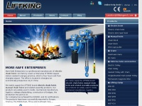 China Hoist, Electric chain hoist Manufacturer- Liftking Electric hoist