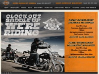 Harley-Davidson of Frederick MD and Harley-Davidson of Williamsport MD.  Welcome to our website.