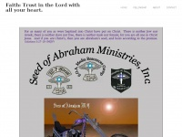 Soamc.net - SEED OF ABRAHAM Ministries Inc. Outreach Street Ministries Homepage of our Christian Motorcycle Ministry (M/C)