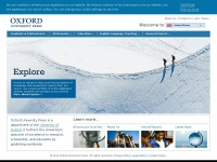 Oxford University Press - homepage