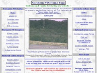Northern New York State Home Page - webcam