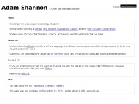 ashannon.us