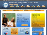 "Saddleback Valley Unified School District | ""Preparing today's students to succeed in tomorrow's world."""