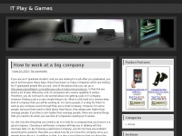 IT Play & Games - IT, Play, Games, Gadget, Information, Technology