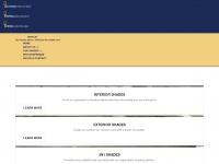 Dropshade patio drop shades motorized for Motorized solar shades reviews