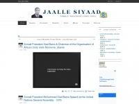 Jaallesiyaad.com - Presidential Library | Somali President Jaalle Maxamed Siyaad Barre