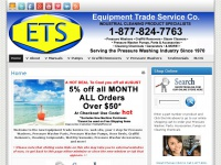 Home - ETS Company Pressure Washers and More
