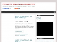 Lynxjuan.com - PCSO LOTTO RESULTS PHILIPPINES PCSO