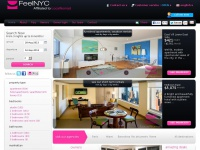 New York apartments, aparthotels & serviced apartments, New York holiday and vacation apartment rentals by feelnyc.com