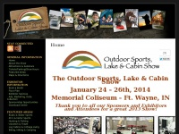 Ft. Wayne Outdoor Sport Lake Cabin Show - Home page